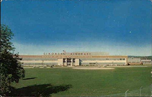Sikorsky Aircraft Plant Stratford, Connecticut Original Vintage Postcard