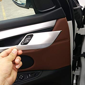 Cubierta de seguridad para cerradura de puerta para X5 X6 F15 F16 2014-2017 Accesorios