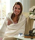 Fleece Soft Heat Low Voltage Electric Throw Blanket
