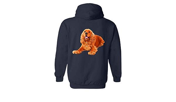 Sweatshirt Pullover Sweatshirt Six Crab Cocker Spaniel Face Tshirt