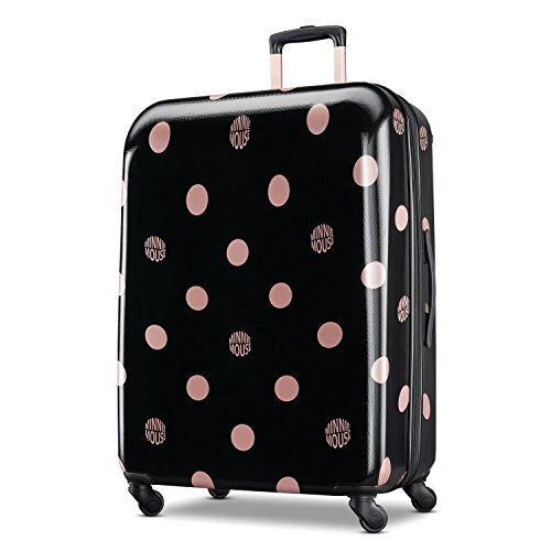 American Tourister Kids' 28 Inch, Minnie Lux Dots