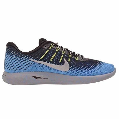 Schuhe Black Lunarglide Silver Herren Sneaker Nike Neu 8 Metallic E1gFqW7z
