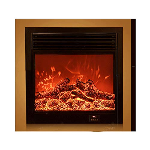 Cheap RKRGQ Electric Fireplace Electric Stove Fireplaces 127cm in-Wall Recessed Mounted Electric Fireplace 750/1500W Heater Withremote Control Black 66x66x18cm Black Friday & Cyber Monday 2019