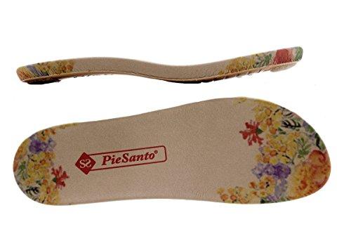 Pelle Estraibile PieSanto Comfort Donna Sandali Negro Larghezza Speciale 1501 Scarpe Plantare 7CqwCg