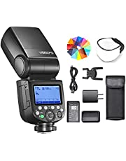 Godox V860III-O Flash for Olympus Camera Flash Speedlite 7.2V/2600mAh Lithium Battery, GN60 2.4G Wireless HSS 1/8000 1.5s Recycle Time 10 Levels LED Modeling Light for Olympus/Panasonic Cameras