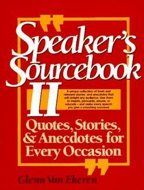 Speakers Sourcebook Stories Anecdotes Occasion product image