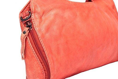 Voi leather design, Borsa a tracolla donna arancione cayenne One size