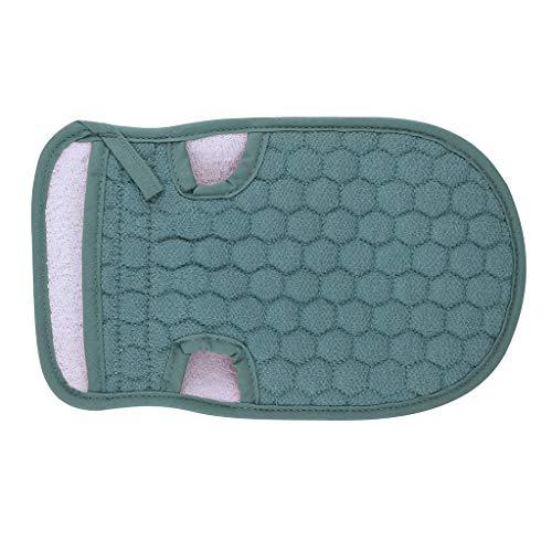 Ktyssp Scrub Gloves Bath Gloves Shower Strong Exfoliating Gloves For Women and Man-Body (Navy) from Ktyssp Clean
