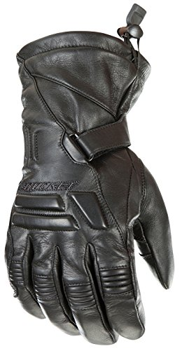 Joe Rocket Wind Chill Men's Cold Weather Motorcycle Riding Gloves (Black, X-Large)