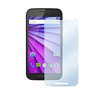 Motorola Moto G (3rd Generation) Protector de pantalla Ultra Clear Protector de pantalla transparente de 3x