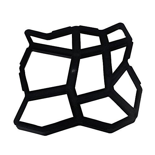 Molde de plástico para Hacer Caminos, Molde de Piedra para Hormigón, Moldes de Piedra para Jardín, Moldes de Piedra,...