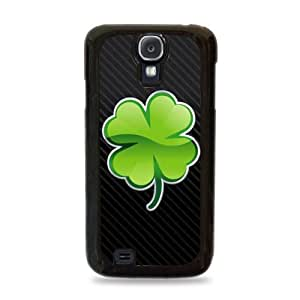803 Four Leaf Clover Samsung Galaxy S4 Hardshell Case - Black