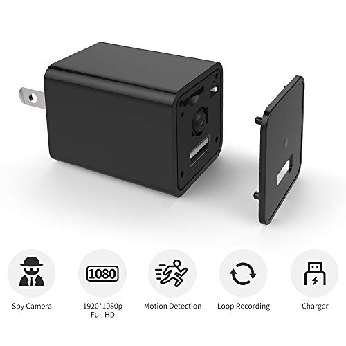 USB Camera Charger, E COASTAL 1080P Full HD Camera Recorder for Security Camera Home Office