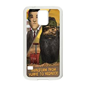Duck Dynasty Samsung Galaxy S5 Cell Phone Case White Dsrfa