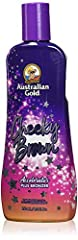 Dark Tanning Accelerator Plus Bronzer.   Get dark fast with Cheeky Brown advanced formula with natural bronzers.   * The No. 1 dark tanning lotion  Now with Bronzer!   * Native Australian oils, Vitamins A and E  create a skin-hydrating formul...