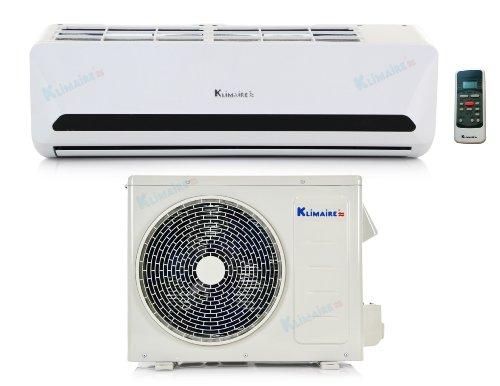 12 000 Btu Klimaire 15 Seer Dc Inverter Heat Pump Air Conditioner 115v 16 Installation Kit