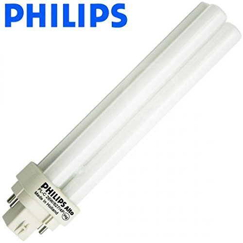 (10 Pack) Philips Lighting 38334-9 - PL-C 26W/827/4P/ALTO - 26 Watt CFL Light Bulb - Compact Fluorescent - 4 Pin G24q-3 Base - 2700K -