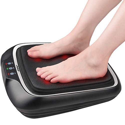 RENPHO Foot Massager with Heat, Shiatsu Electric Foot Massager Machine with Heat- Kneading Foot & Back Massager for Foot…