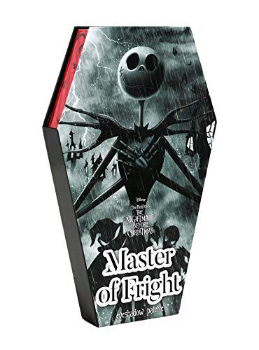 The Nightmare Before Christmas Master Of Fright Eyeshadow Palette (Palette Christmas)