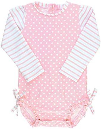 RuffleButts Toddler Sleeve Swimsuit Protection product image