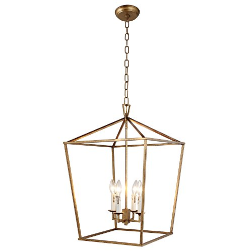 Gold Pendant Light in US - 9