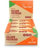 Bulletproof Collagen Protein Bars, Perfect Keto Diet Snack Bar For Men And Women (Apple Pie)