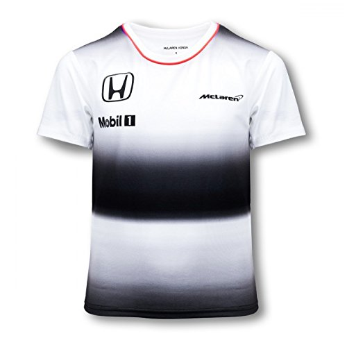 Price comparison product image Honda MCLAREN Fernando Alonso T-Shirt Kids 2016 Replica (5-6 Years)