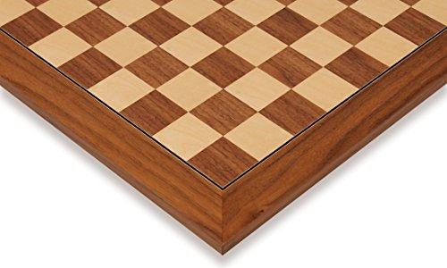 Black Walnut & Maple Deluxe Chess Board - 2