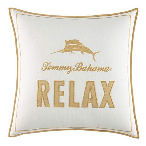 Tommy Bahama Loredo Gardens Pillow, 16x16, Orange from Tommy Bahama