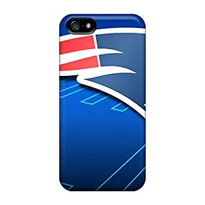 High Impact Dirt/shock Proof Case Cover For Iphone 5/5s (new England Patriots)