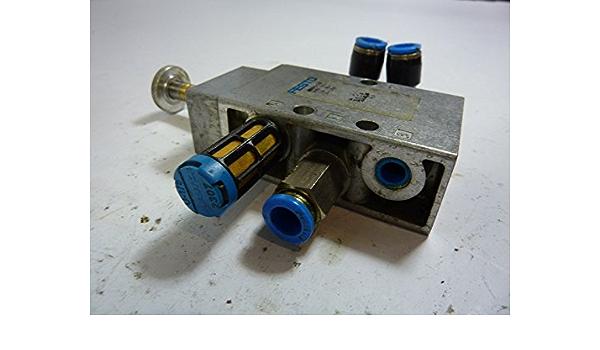 Festo jmzh 10-5 #3456 5//2-1,5-l-led 30221 válvula de solenoide de nuevo