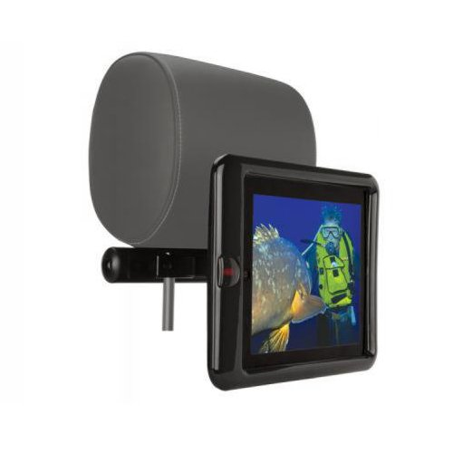 Scosche IPD2HM3 backSTAGE pro II Headrest Mount for iPad 2