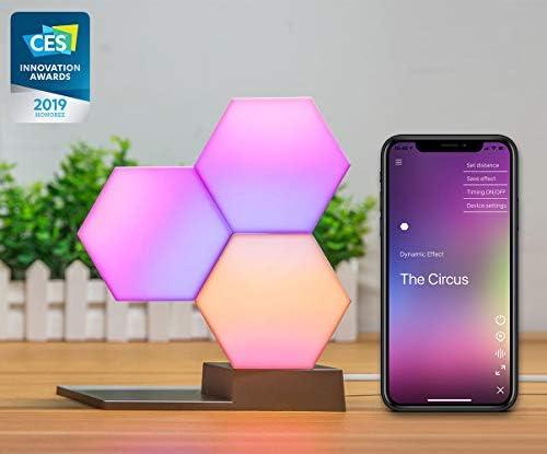 Cololight LED Modul System, 16 Mio Farben und Effekte, Wifi Smart Home Steuerung für Android und Apple (1x Starter Set (1x Basis, 2x Extension))
