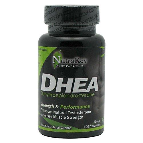 Nutrakey DHEA 100 Capsules 100 capsules (50 mg)