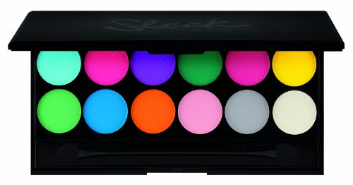 Sleek Make Up I-Divine 12pc Mineral Eyeshadow Palette V1 - Ultra Mattes - Tone Based Yellow Skin