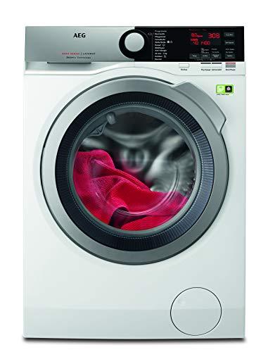 AEG L8FE74485 Waschmaschine / ProSteam – Auffrischfunktion / ÖKOMix – Faserschutz / 8,0 kg / Leise / Mengenautomatik…