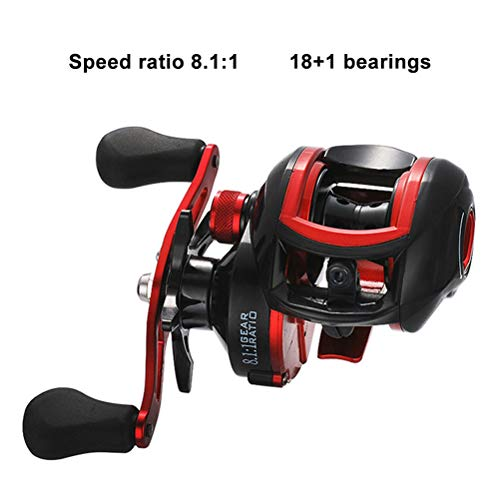 Yeawooh Spinning Reel, Metal Wire High Speed   Lightweight Super Smooth Fishing Reel