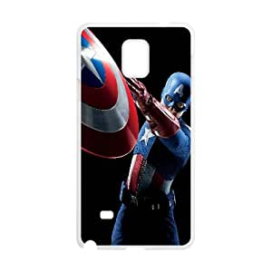 Captain America Movie Samsung Galaxy Note 4 Cell Phone Case White Decoration pjz003-3758885