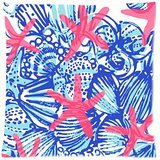 Lilly Pillow - Lilly Pulitzer Custom Zippered Pillow Case Cover Cushion Case 18x18 Inch (Two sides)