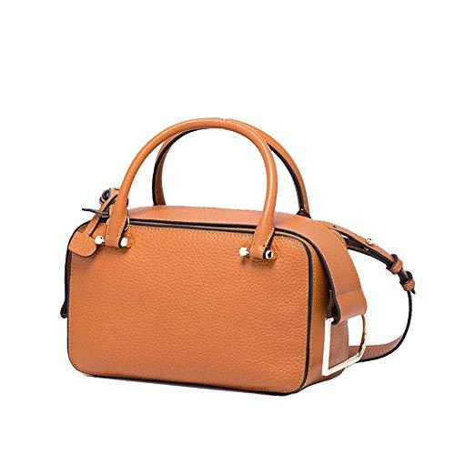 femmes banlieue sac Jxth pour Ladies Brown Satchel Gifts bandoulière à Brown classique élégant les couleur simples Design APAxwqz