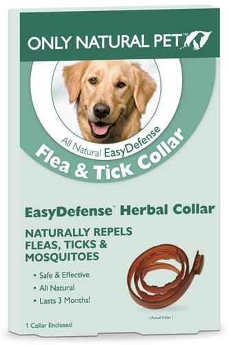 (Only Natural Pet EasyDefense Flea & Tick Dog Collar)