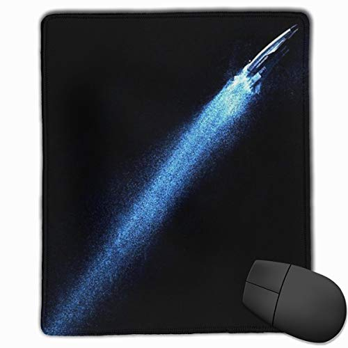 Yuotry Smooth Mouse Pad Rocket Launch Mobile Gaming Mousepad Work Mouse Pad Office Pad