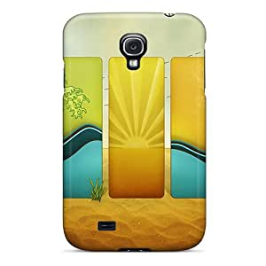 AXkjoNA4942wAnns Case Cover, Fashionable Galaxy S4 Case - Mirage In Panels
