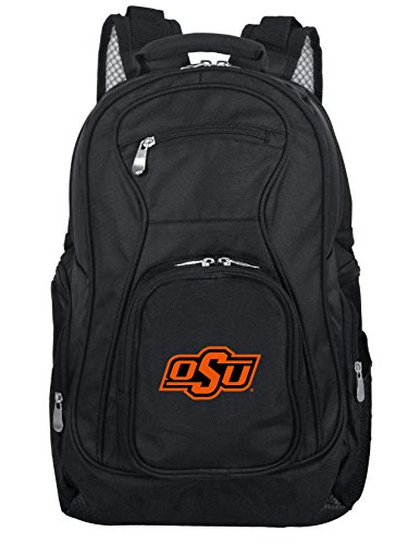 Denco NCAA Oklahoma State Cowboys Voyager Laptop Backpack, 19-inches (Oklahoma Cowboys Basketball State)