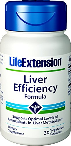 Life Extension Liver Efficiency Formula 30 Vegetarian Capsules by Life Extension (Image #4)