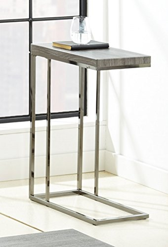 Steve Silver Company Lucia Cocktail Table, 47 x 24 x 20 , Grey