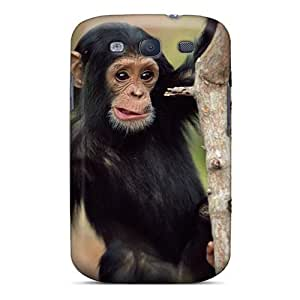 Premium Tpu Baby Monkey Cover Skin For Galaxy S3