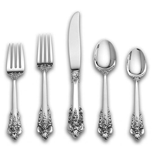 Wallace Grande Baroque Sterling Silver 5-pc Flatware Set