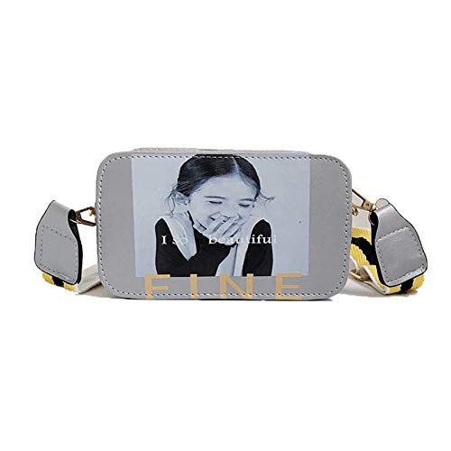 Borse Stampa Borsa Pelle Tracolla Pu Bambine Casual A Moda Bianco Telefono Bag Sling Piccola Cellulare Santoro Spalla Qhorse 5xw6BqYA