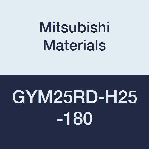 Mitsubishi Materials GYM25RD-H25-180 Face Grooving Holder 0.984 Grooving Depth M25 Size 7.087 Grooving Diameter Modular Blade Right Hand 0.187//0.197//0.206 Seat